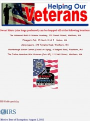 Sweats for Vets | Veteran Owned Business Project Nonprofit Member