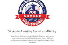Goss Construction | Veteran Owned Home Improvement Business