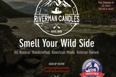 Riverman Candles | Veteran Owned Candle Store