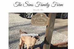 The Sims Family Farms | Veteran Owned Business Member