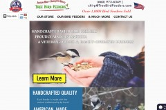 Tree Bird Feeders | Veteran Owned Woodworking Business