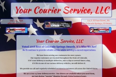 Your Courier Services Colorado Springs | Veteran Owned Courier Service Business