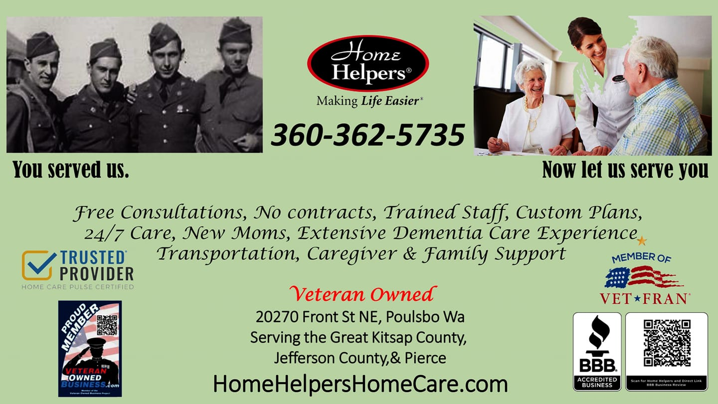 Homer Helpers Flyer | Veteran Owned Home Healthcare Business