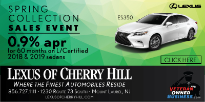 Lexus of Cherry Hill Spring Banner | Veteran Owned Luxury Car Dealership