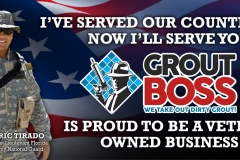 Grout Pro Coupon Mailer | Veteran Owned Grout Cleaning Business