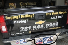 Checkmate  Home Inspections | Veteran Owned Home Inspector Business Stickers