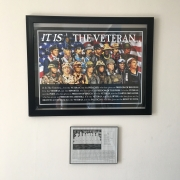 It Is The Veteran Poster | Veteran Owned Business' Offices