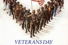 1987 Veterans Day Poster