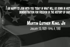 Martin Luther King, Jr. Day 2019