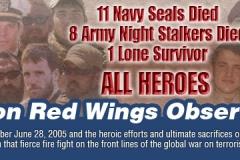 2018 Operation Red Wings Banner With Photos