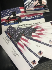 Newest Batch of VeteranOwnedBusiness.com Stickers