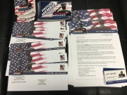 "Veteran Owned Business ""Proud Member"" Sticker Mailing 