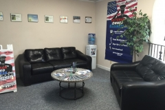 Veteran Owned Business' Lobby
