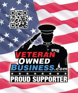 Veteran Owned Business (VOB) Proud Supporter Sticker
