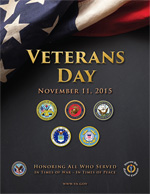2015 Veterans Day Poster