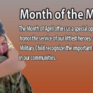 Frequent Moves, Parental Deployments And Life Transitions... This April Is Month Of The Military Child!