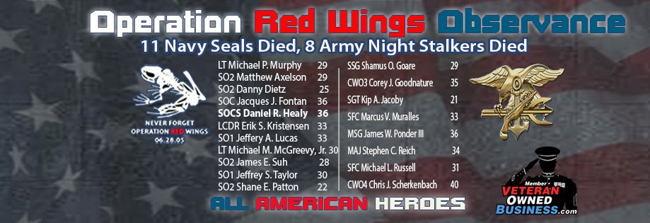 Operation Red Wings Observance (June 28, 2017)