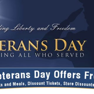 Continued FREE Meals and Discounts for Military Appreciation Month