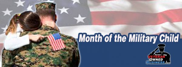 April Is Month Of The Military Child!
