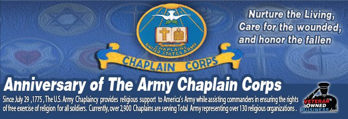 Anniversary of the Army Chaplain Corps 2016