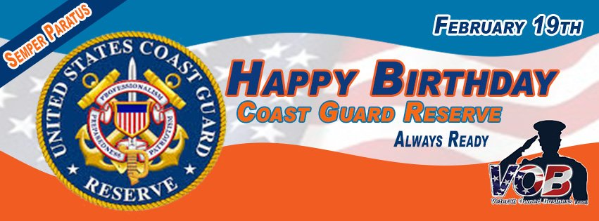 Coast Guard Birthday February 19th