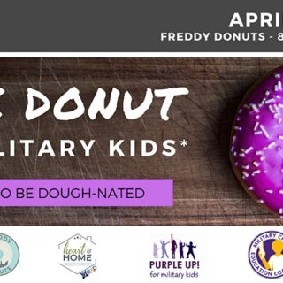 Free Donut for Military Dependents | Purple Up! | Freddy Donuts