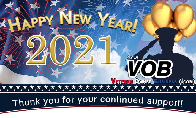 HappyNewYear2021 - Veteran Owned Business