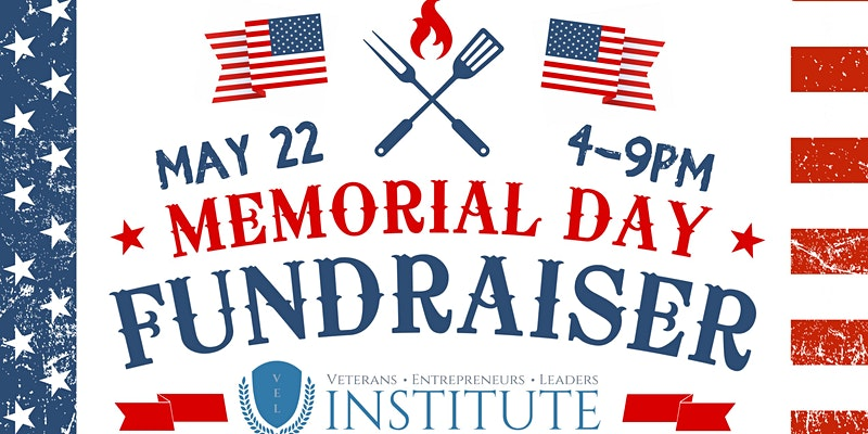 VEL Memorial Day BBQ Fundraiser