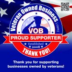 Veteran Owned Business Proud Supporter
