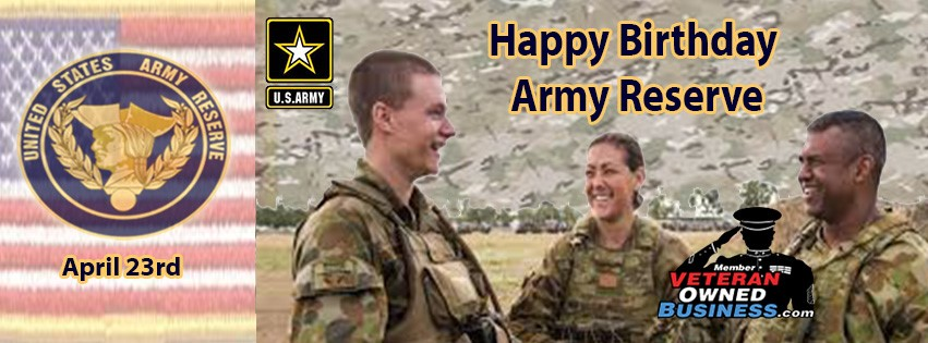 Army Reserve Birthday