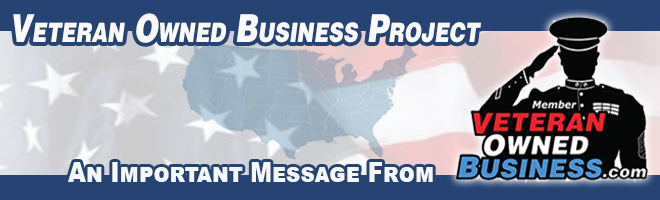 An Important Message from Veteran Owned Business