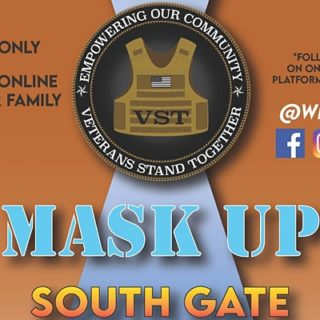 Veterans Stand Together: Operation Mask Up – South Gate (02-06-21)