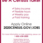Veterans Census Jobs