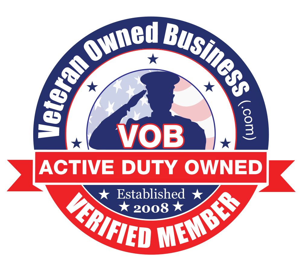Veteran Owned Business Active Duty Owned Verified Member Badge