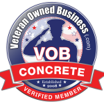 Veteran Owned Business Concrete Verified Member Badge