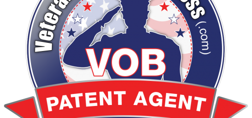 Veteran Owned Business Patent Agent Verified Member Badge