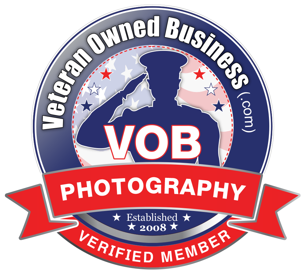 Veteran Owned Business Photography Verified Member Badge