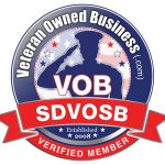 Veteran Owned Business SDVOSB Verified Member Badge