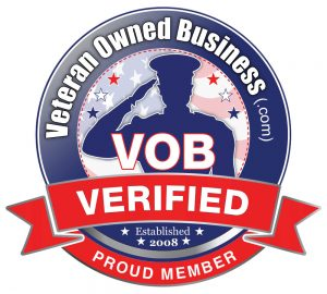 Veteran Owned Business Proud Member Badge Verified