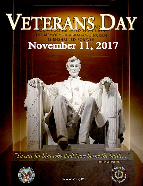 Veterans Day 2017 Poster