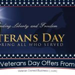 2020 Veterans Day Deals, Discounts and Freebie