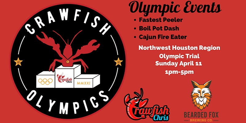 2021 Crawfish Olympics NORTHWEST HOUSTON | Bearded Fox Brewing