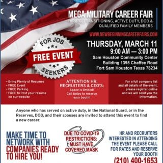 Mega Extravaganza Military Career Fair