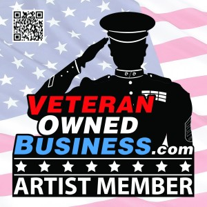 Artist Badge - Veteran Owned Business Project