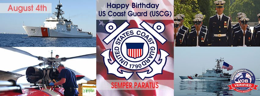 U.S. Coast Guard Birthday